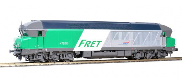 Train électrique : ROCO R68989 - Locomotive Diesel CC72013 FRET AC SNCF