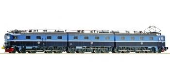 Train électrique : ROCO R72533 - Locomotive DM3 bleue SON SJ