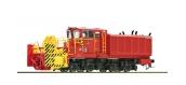 Modélisme ferroviaire : ROCO R72801 - Locomotive diesel Beilhack Rotary Souffleuse à neige, FS