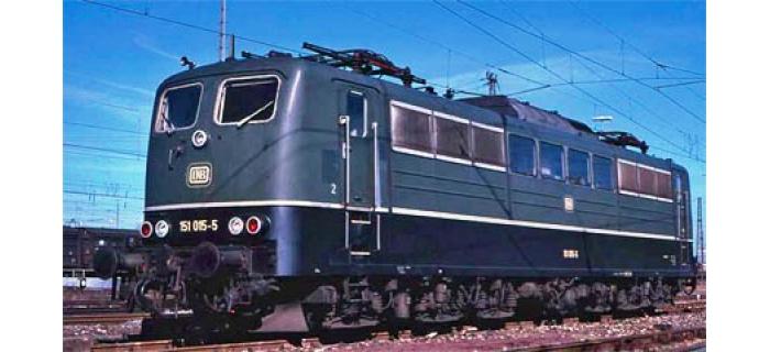 Train électrique : ROCO R73401 - Locomotive électrique Br151 verte son DB