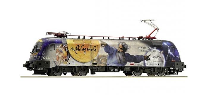 Train électrique :  ROCO R73525 - locomotive électrique 1116 077-9 Michelangelo-Galileo, OBB