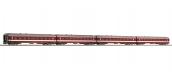 Modélisme ferroviaire : ROCO R74109 - Coffret 1 de 4 voitures voyageurs