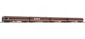 Modélisme ferroviaire : ROCO R74110 - Coffret 2 de 4 voitures voyageurs