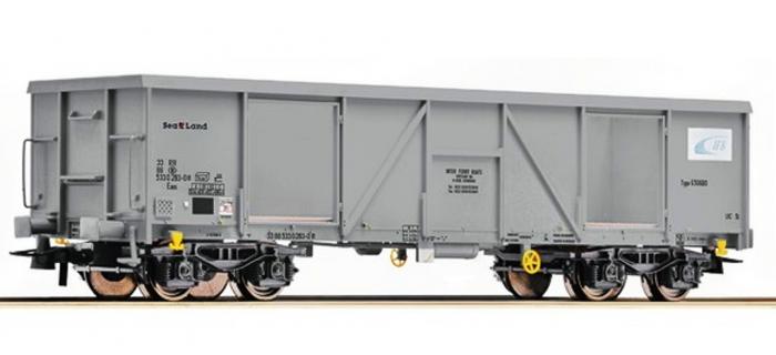 Modélisme ferroviaire : ROCO R76810 - Wagon tomberau IFB gris SNCB