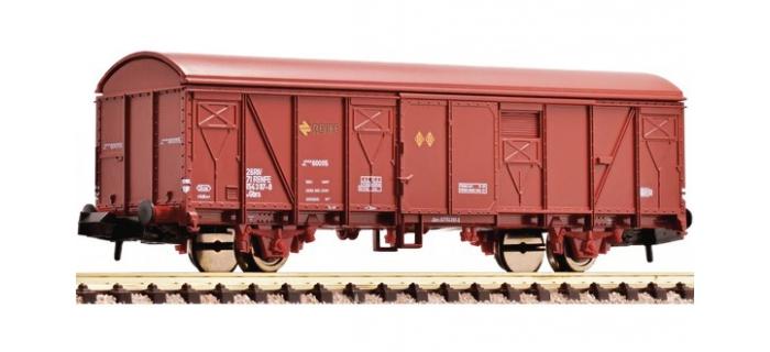 Train électrique : FLEISCHMANN FL831504 - Wagon de marchandises couvert, type Gbs, de la RENFE.