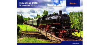 R80818 - Catalogue Roco Nouveautés 2018 - Roco