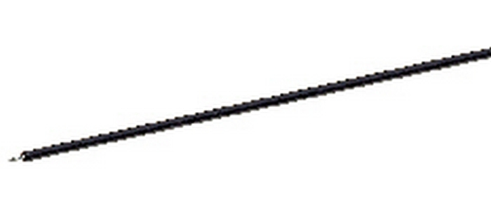 Câble 1 pôle, noir
