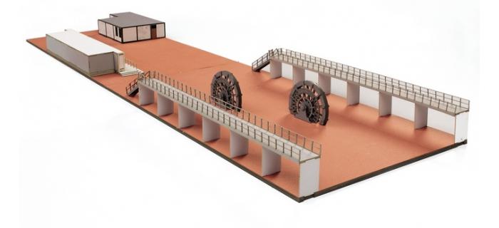 roco 15005 Aménagement intérieur de la halle des machines du charbonnage de Zollern