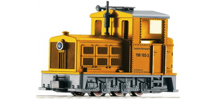 Train électrique :  ROCO R33208 - Locomotive Br199 DR