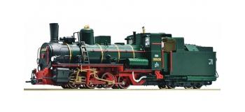 Modélisme ferroviaire : ROCO R33265 - Locomotive à vapeur 399.06 verte OBB
