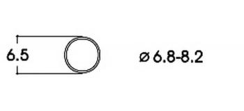 modelisme ferroviaire roco 40067 Bandage d'adhérence CC 6,8-8,2 mm (x10)