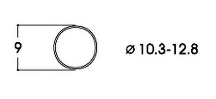 modelisme ferroviaire roco Bandage d'adhérence CC 10,3-12,8 mm ref 40069