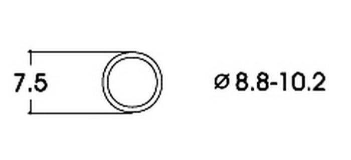 roco 40074 Bandage d'adhérence CC 8,8-10,2 mm modelisme ferroviaire