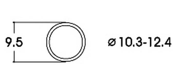 modelisme ferroviaire 40074 roco Bandage d'adhérence CC 10,3-12,4 mm