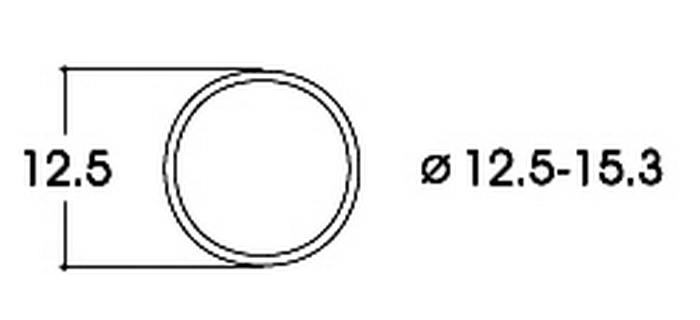 roco 40075 Bandage d'adhérence CC 12,5-15,3 mm
