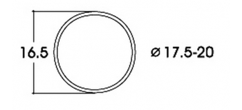 modelisme ferro roco Bandage d'adhérence 40077 CC 17,6-20 mm