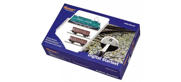 Train électrique : ROCO R41342F20 - Coffret départ digital 2D2 9107