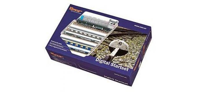 ROCO 41342F4 - Coffret de départ digital, train voyageurs