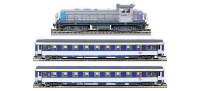 train ROCO 41342F4 - Coffret de départ digital, train voyageurs