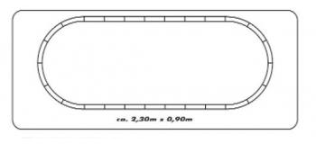 roco 41342F5 Coffret digital fret modelisme ferroviaire plan de voie