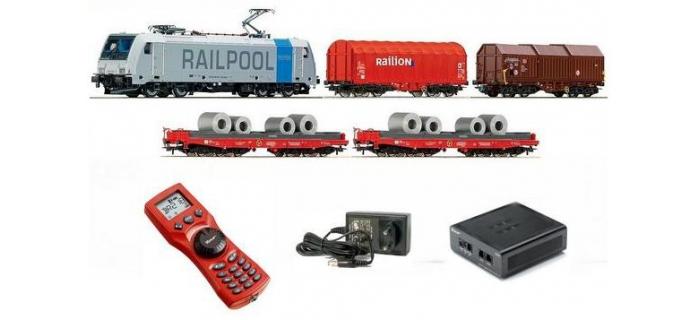R41356 - Coffret de départ digital Br185 Raillion  - Roco
