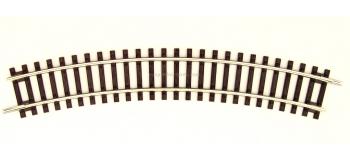 R42422 Rail courbe R2 Roco Line, 358mm & 30°