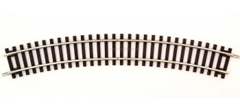 R42423 Rail courbe R3 Roco Line, 419.6mm & 30°