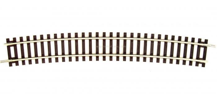 R42427 Rail courbe R9 Roco Line, 826.4mm & 15°