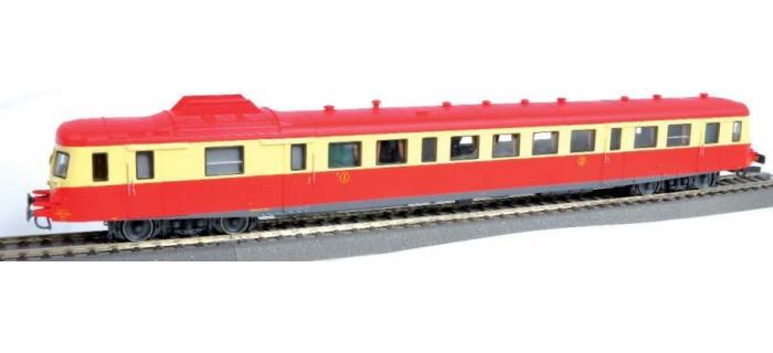 roco 43082R Autorail X 2888 à toit rouge dépôt de Lyon-Vaise