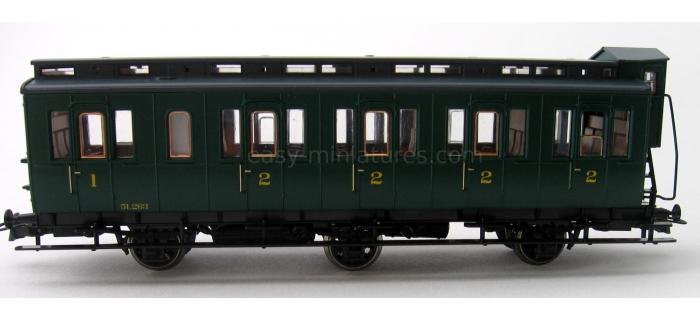 roco R45537 Voiture SNCB, 3/2 classe