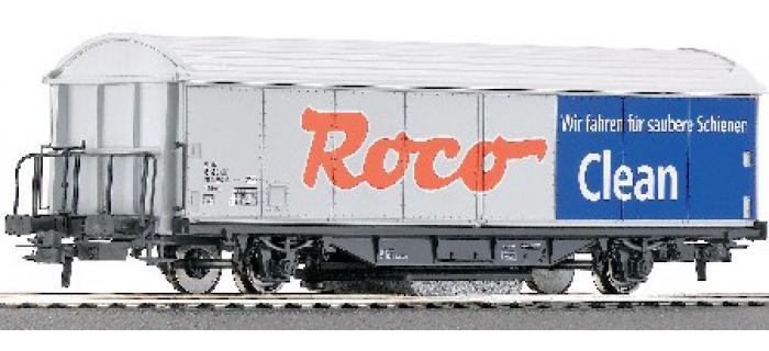 roco 46400 Wagon avec dispositif de nettoyage de rails ROCO