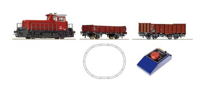 Train électrique : ROCO R51155 - Coffret analogique disesel OBB