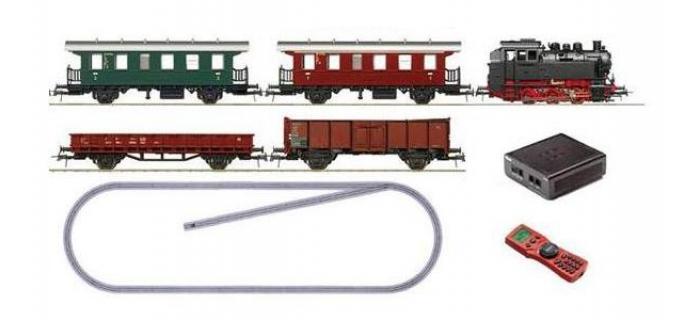MODELISME FERROVIAIRE Roco 51244 Coffret numérique de départ BR80, train voyageurs / marchandises