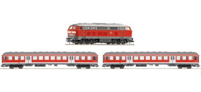 roco 51255 Coffret de départ digital Br218, Regio DB
