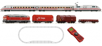 Train électrique : ROCO R51256 - Coffret digital ICE + BR218 DB