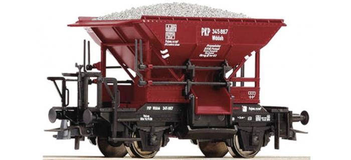 Modélisme ferroviaire : ROCO R56246 - Wagon trémie Talbot DB