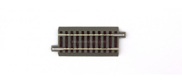 R61112 Rail droit GeoLine, 76.5 mm