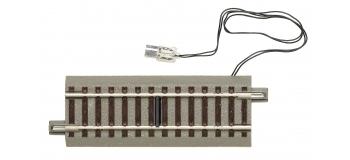 roco 61117 Rail télécommande GeoLine, 100 mm