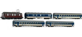 Modélisme ferroviaire - ROCO R 61425 - Rame locomotive Ae4/4 BLS