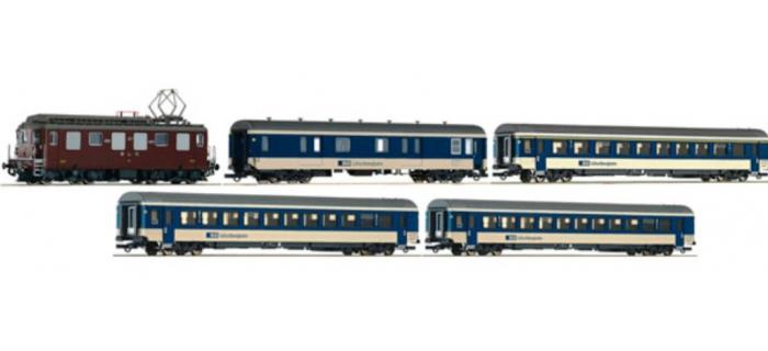 Modélisme ferroviaire - ROCO R 61426 - Rame locomotive Ae4/4 BLS DCC