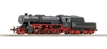 roco 62283 Locomotive à vapeur BR52 de la DB avec son
