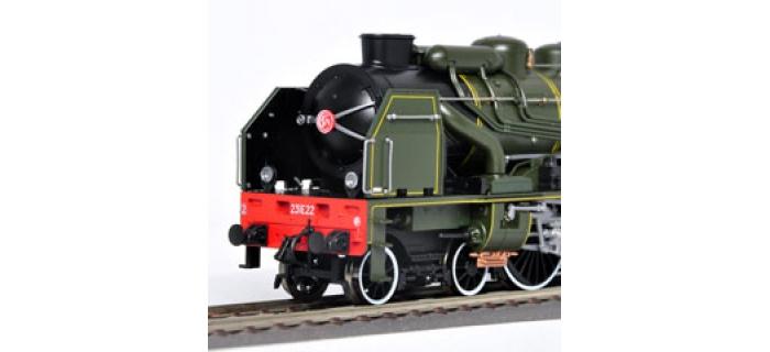 roco 62306 Locomotive à vapeur E231 de la SNCF avec son