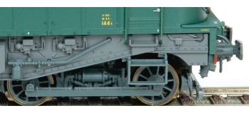 ROCO 62477 - Locomotive électrique 2D2 9107 GRG2, SNCF