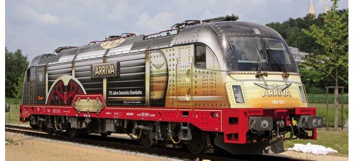 roco 62604 Locomotive Electrique série 183 de ARRIVA train electrique