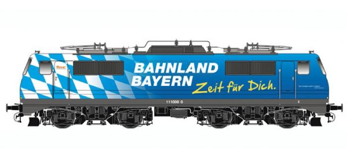 roco 62689 LOCO E.BR111 BAYERN DB train electrique