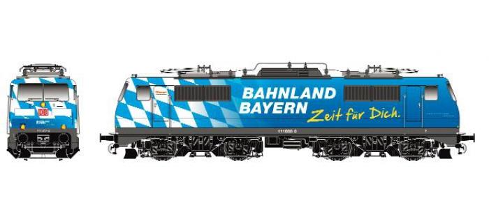 roco 62689 LOCO E.BR111 BAYERN DB modelisme ferroviaire