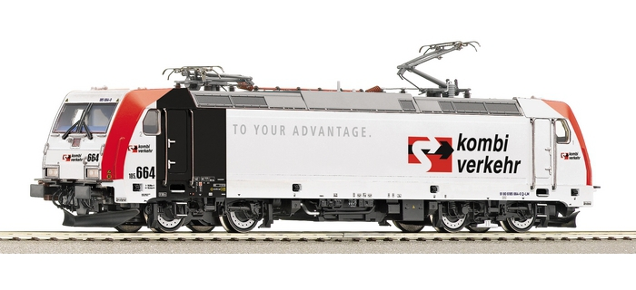 roco 62707 Locomotive Electrique BR185.5 « KOMBIVERKEHR » de LOKOMOTION