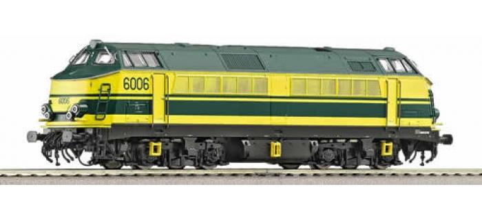 Train électrique : ROCO R62891 - Locomotive Diesel, Série 60 de la SNCB