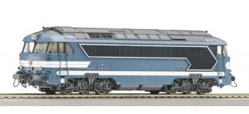Locomotive diesel 68503, SNCF, dépôt Chalindrey