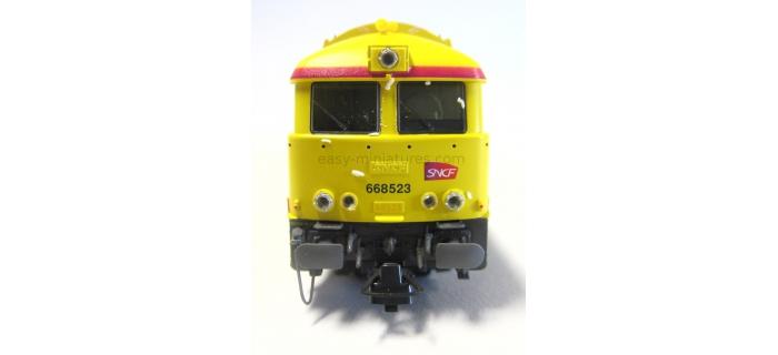 roco 62906 Locomotive A1A A1A 668523 INFRA - logo Carmillon modélisme ferroviaire